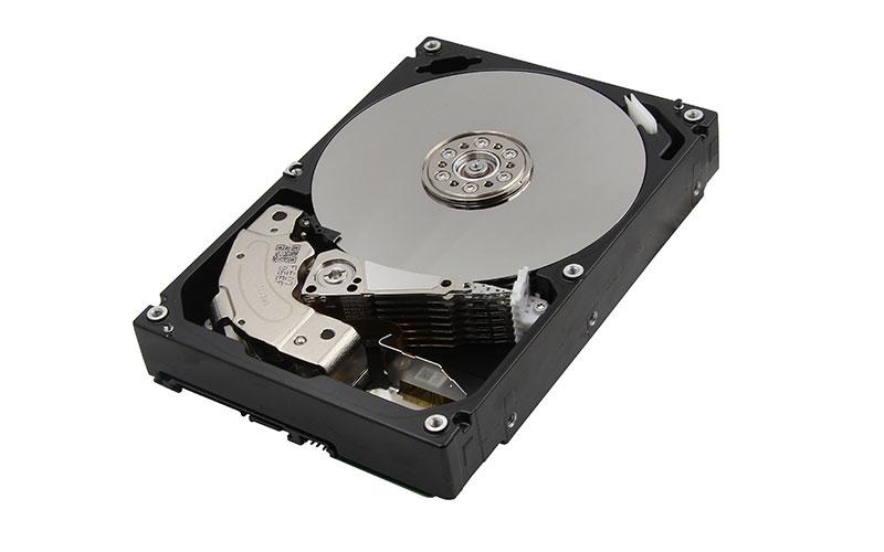 Toshiba's new 10 terabyte hard drive